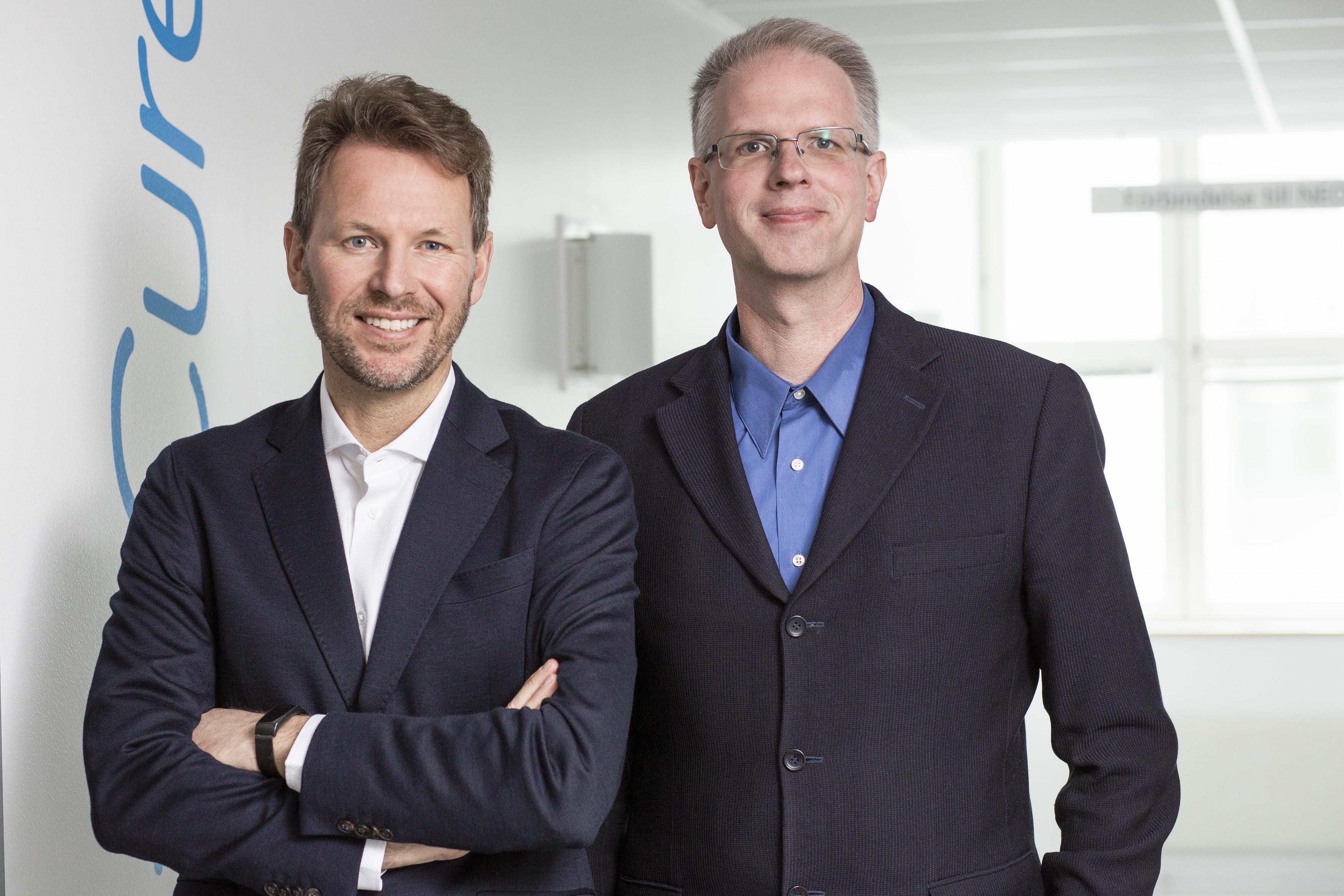 Martin Jo?nsson CEO O Johan Sandin CSO AlzeCure Pharma